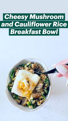 Healthy Eating Recipes, Healthy Meal Prep, Low Calorie Recipes, Gluten Free Recipes, Vegetarian Recipes, Cooking Recipes, Healthy Food, Yummy Food, Breakfast Bowls
