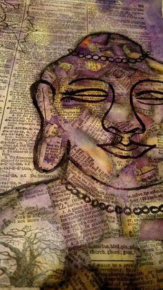 Collage Buddha