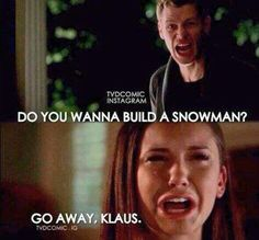 Haha Frozen/TVD in one picture :)   LMAO xD