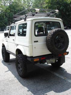 CLEAN 88 Suzuki Samurai (RARE) Hard Top AKA Tin Top MODDED (NYC ...