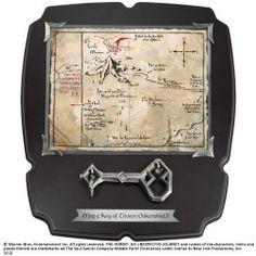 MAPA Y LLAVE EL HOBBIT THORIN 36 X 32 CM, el mejor precio, Réplica tamaño real de llave y mapa de Erebor de la película ´El hobbit: un viaje inesperado´. Dimensiones de la mapa aprox. 38 x 33 cm. ...