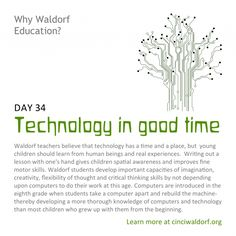Waldorf ~ 8th grade ~ Learn ~ Computers  Technology