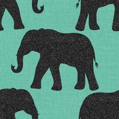 "1 Meter Navy Giraffe Elephant Print 100/% Pure Cotton Fabric 45""Wide Dress Craft"