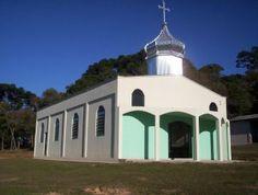 Igreja ucraniana da comunidade de Capivara - Ivaí