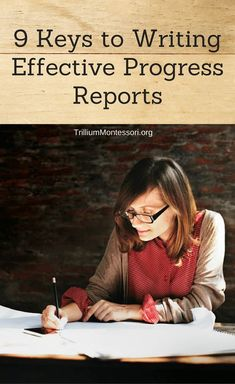 9 tips for writing effective progress reports and report cards for teachers
