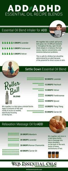 essential oils for add recipes infographic #soapinfographic
