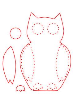free felt ornament patterns | cute felt ornaments: my first time working with felt, jay! (patterns ...