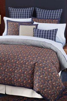 Paisley & Plaid Bedding.