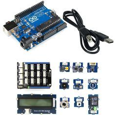 Give your prototyping a kick start with the *Grove Bundle Starter Kit for Arduino + Arduino Uno R3*