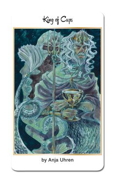 @anjauhren returns to create our King of Cups for 78 Tarot Nautical…