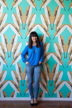 #wallpaper #feather #pattern