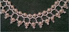 """""""The Queen's Pearl Necklace""""... tutorial, and many,many more"""