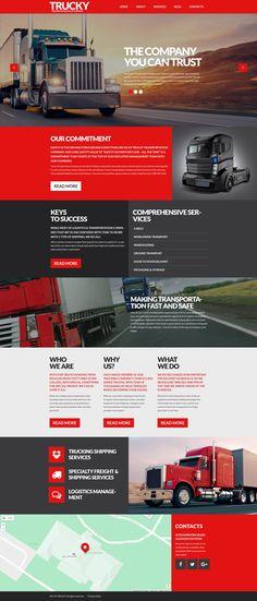Logistics WP Theme - https://www.templatemonster.com/wordpress-themes/53388.html