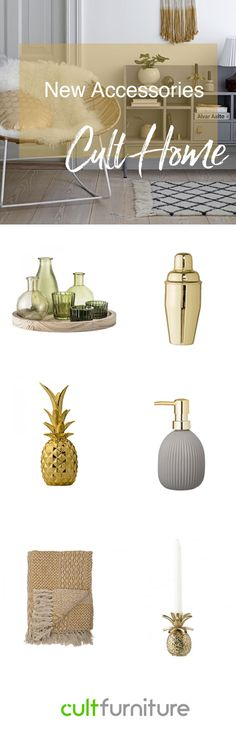 Some easy and stylish accessories to spruce up, clean up, and get your house in order this spring.
