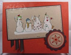 Frosty Friends by Wdoherty - Cards and Paper Crafts at Splitcoaststampers