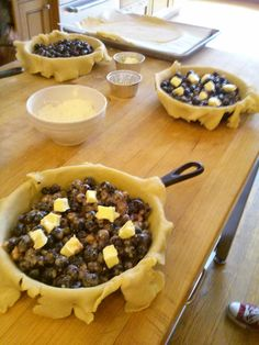 The Chopping Blog: Are you baking in your cast iron pan? If not, get started with a pie! Recipe for Blueberry Cardamom Lattice Pie included.