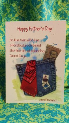 """Badass Dad"" - a Happy Father's Day card from Chiquelixo.com"