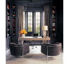 Monique Lhuillier's Grey Office