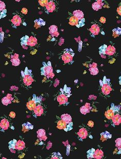 Crystal Ditsy Floral Print