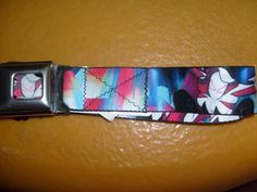 MARVEL SPIDER-GWEN MAN BUCKLE DOWN ADJUSTABLE SEATBELT STYLE POLYESTER BELT OSF  #BUCKLEDOWN