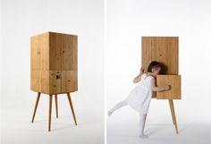 Fibonacci Cabinet by Studio UT.AD