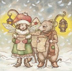 Fairy and Mouse Choir by ~Red--Squirrel on deviantART