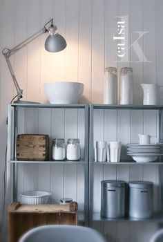 Ikea Hyllis; planning on having this in our bathroom!