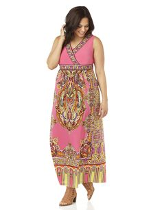 Exotic Escape Maxi (original price, $99.00-$109.00) available at #Maurices BUT NOT THIS PINK,