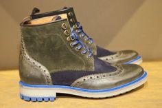 Boots d'esprit montagnard chez Schmoove #shoes #chaussures #boots #montagnard #schmoove #homme #style #commeuncamion