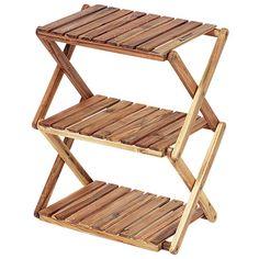 CSクラシックス木製3段ラック<460>UP-2504