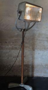 industrial standing lamp by jonque58 random recycled metal