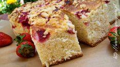 Ciasto drożdżowe z truskawkami | Fascynacje Ani