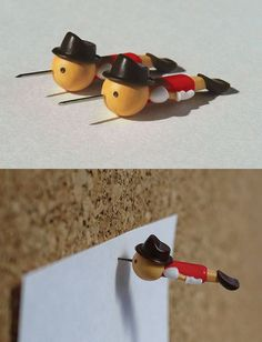 シャキーン! ピノキオの押しピン | ROOMIE(ルーミー)