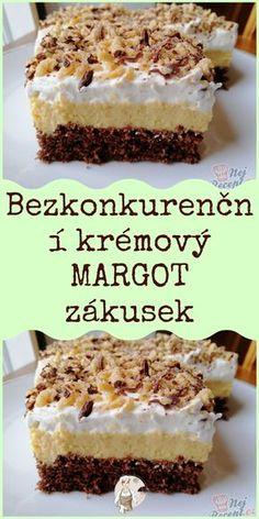 Sweet Desserts, Sweet Recipes, Cake Recipes, Slovak Recipes, Desert Recipes, Cheesecakes, No Bake Cake, Oreo, A Table