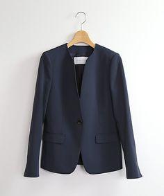 【予約商品】ESTNATION ノーカラージャケット(ノーカラージャケット)|ESTNATION(エストネーション)のファッション通販 - ZOZOTOWN