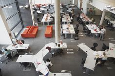 University of Sheffield Information Commons: Silent Study Space Study Areas, Study Space, Learning Spaces, Learning Environments, University Of Sheffield, Startup Office, Visualization Tools, Creativity And Innovation, Library Design