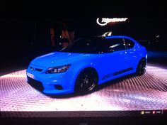 Voodoo Blue Scion tC. I want this car soooooo bad!!!!