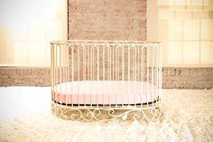 This crib from Bratt Decor is perfection. #nursery #decor