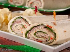 This deli favorite is a treat for kids and adults alike! This easy kid-friendly lunch recipe makes a great substitute for those tired of the regular, ol' PB & J. Not only are these great for lunches, but you can even serve 'em up on a platter to serve the gang during the big game. Bite-sized snacks have never been better!
