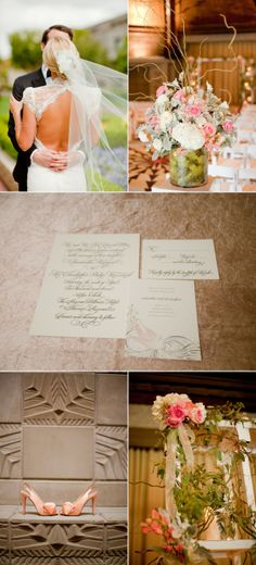 Phoenix Wedding by Elyse Hall Photography Rose Tuxedo