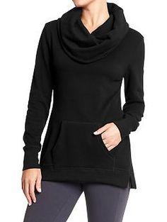 Women's Cowl-Neck Fleece Pullovers | Old Navy
