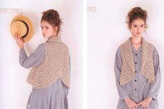 Receitas de Crochet: Bolero circular