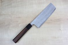 JCK Original Kagayaki Aogami Super Custom Damascus Nakiri Knife