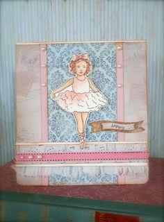 Synnøves Papirverksted: Søt ballerina
