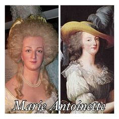 Marie Antoinette: accurate face reconstruction compared to a portrait