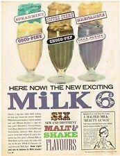 Milk and Malt Shake flavours ~ Australia 1963.