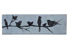 Bird Board, stencil