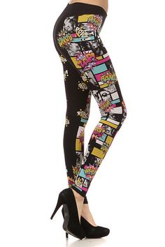 Only Leggings - Marilyn Monroe Leggings, $36.00 (http://www.onlyleggings.com/marilyn-monroe-leggings/)