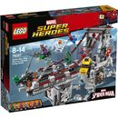 Lego Superheroes: Spider-Man: Web Warriors The bridge is under attack! Team up Spider-Man, Spider-Girl and Scarlet Spider to defeat Green Goblin. But beware Kraven the Hunter crawling out of his secret lair, and watch out for Scorpions venomou http://www.MightGet.com/january-2017-11/lego-superheroes-spider-man-web-warriors.asp