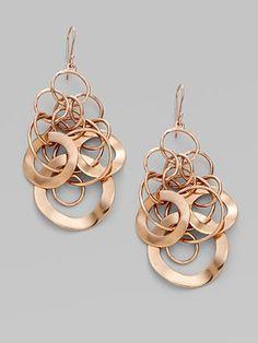 Ippolita  Rose Link Earrings